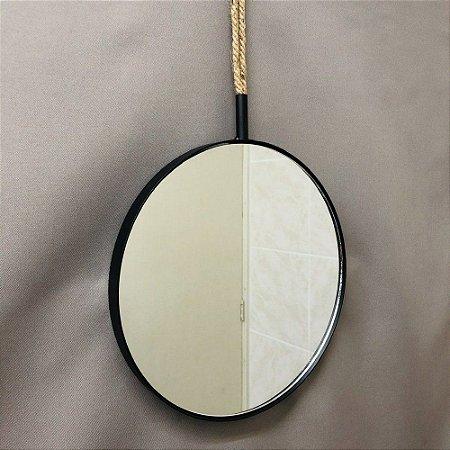 Espelho Decorativo de Parede 30 cm - Tokyo Design