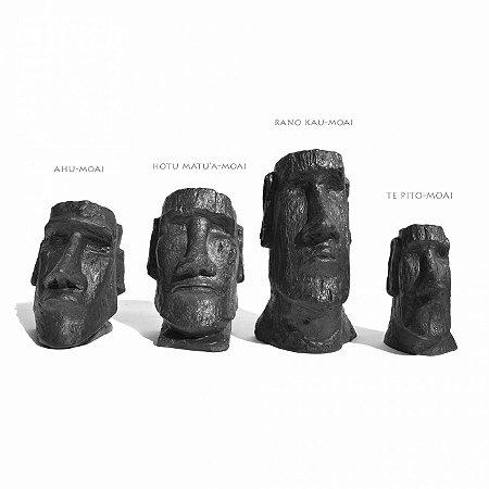 Coleção Moais (4 peças)