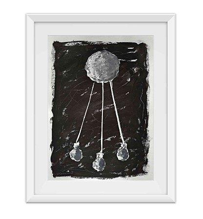 Abstrato Moon VII