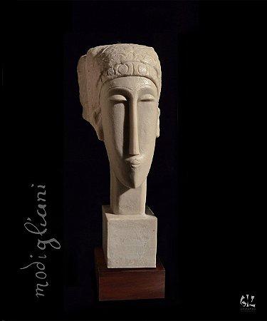 Cabeça de mulher - Amadeo Modigliani