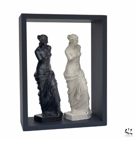 Vênus na Caixa - Duo Preto e Branco