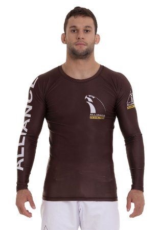 RASH GUARD ALLIANCE VULKAN MARROM 2021