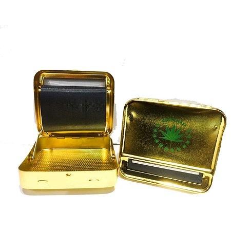 Bolador Automatico Metálico Dourado