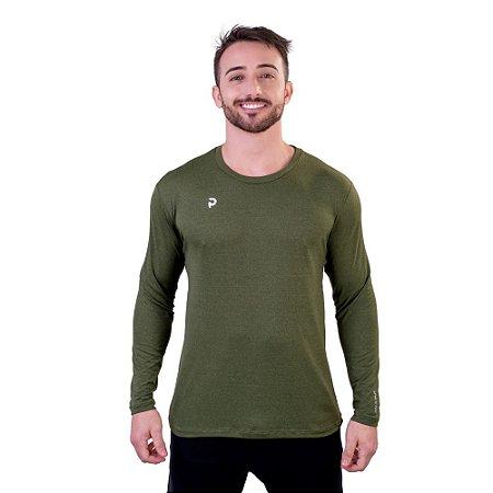 Camiseta Punnto Masculina Manga Longa Tradicional Porus