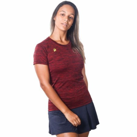 Camiseta Punnto Feminina Manga Curta Tradicional Plank