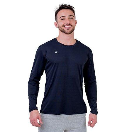 Camiseta Punnto Masculina Manga Longa Antiviral - Vírus Bac OFF