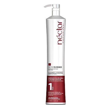 Shampoo para cabelos coloridos - Néctar Blindage 1000ml Professional