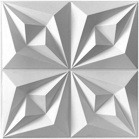 Placas decorativas 3D Poliestireno Origami m²