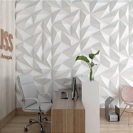 Placas decorativas 3D Poliestireno Trapézio m²