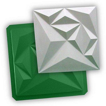 Forma de Gesso/Cimento ABS Eco - Diamond 39 X 39 Ref 34