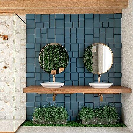 Placas decorativas 3D Poliestireno Geométrico m²