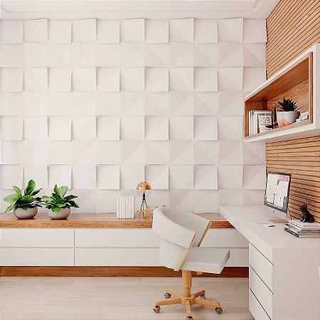 Placas decorativas 3D Poliestireno Cubos m²