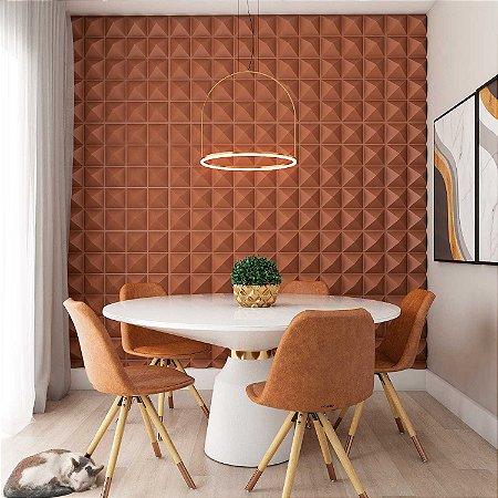 Placas decorativas 3D Poliestireno Piramidal m²