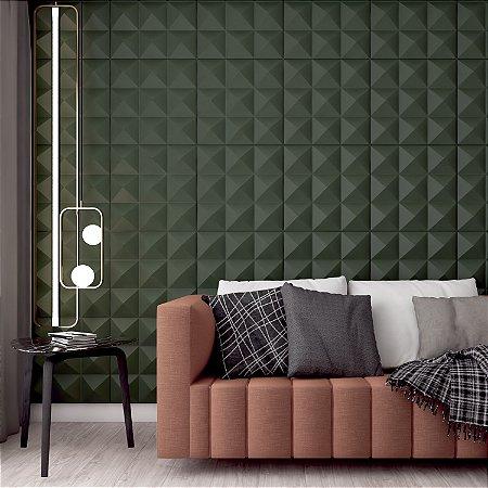 Placas decorativas 3D Poliestireno Prisma m²