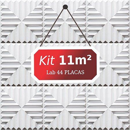 Kit 11m²  Revestimento 3D Lab