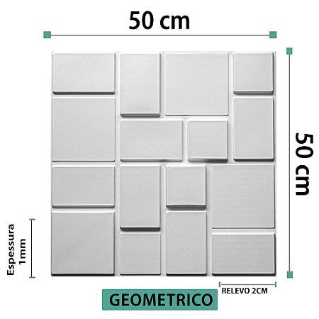 Placa decorativas 3D Poliestireno Geometrico
