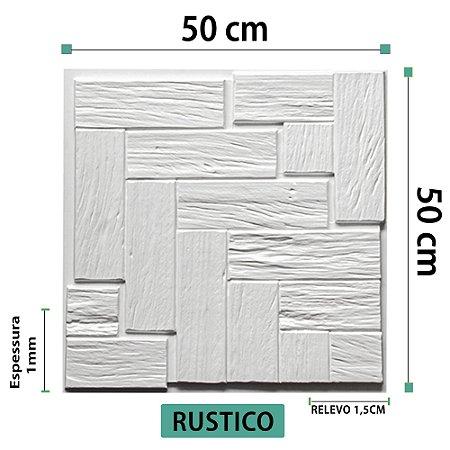 Placa decorativas 3D Poliestireno Rustico