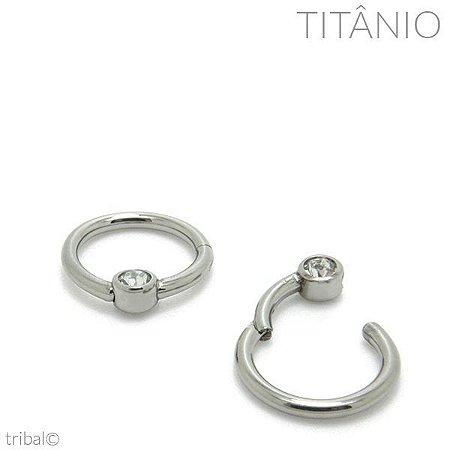 Captive/Anel Segmentado Articulado Zircônia Titânio