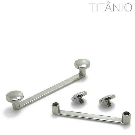 Surface Flat Bar Disco Titânio