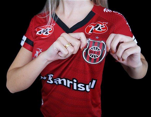 Camisa GE Brasil Vermelha Feminina