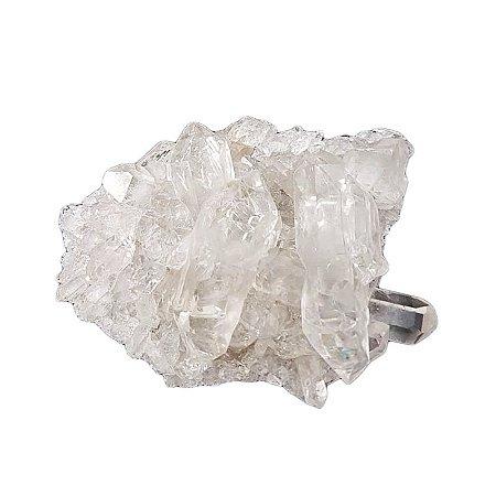 Drusinha em Quartzo Transparente 33gr (9)