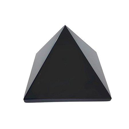 Pirâmide em Obsidiana Negra 545gr