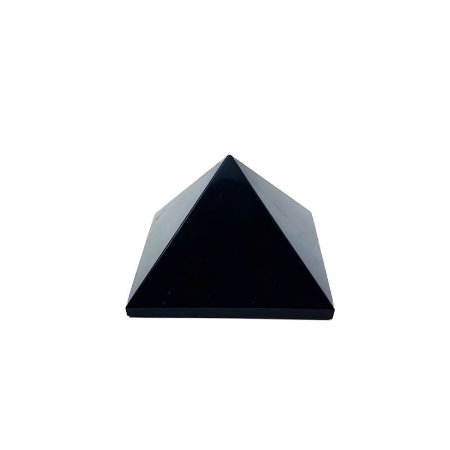 Pirâmide em Obsidiana Negra 331gr