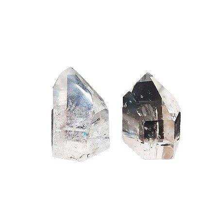 Ponta de Cristal Quartzo Transparente 100gr *preço unitário*