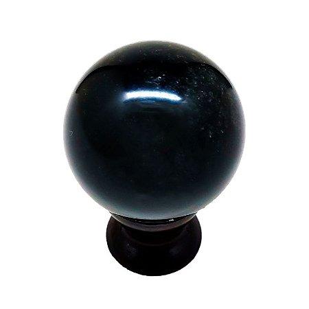 Esfera em Quartzo Negro 217gr