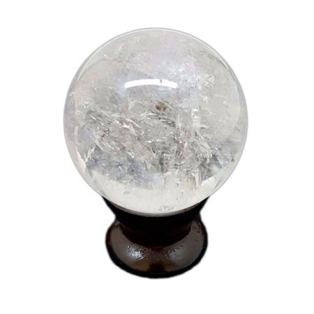 Esfera em Quartzo Branco 220gr