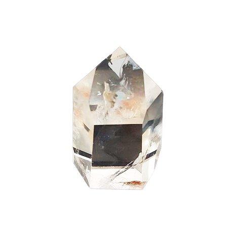 Ponta de Cristal Quartzo Transparente 255gr (6)