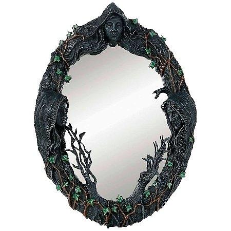 Deusa Tríplice Espelho Tradicional