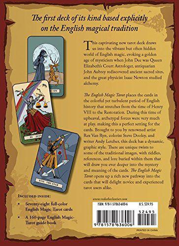 The English Magic Tarot livro + Deck