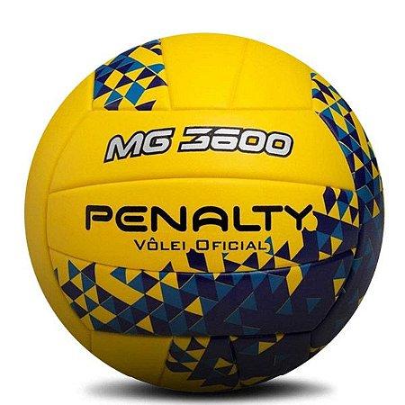 Bola de Vôlei Penalty Oficial MG 3600 Amarelo & Azul