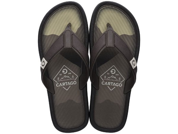 Chinelo Cartago Dakar 11022 37/44 Caixa com 12 Pares