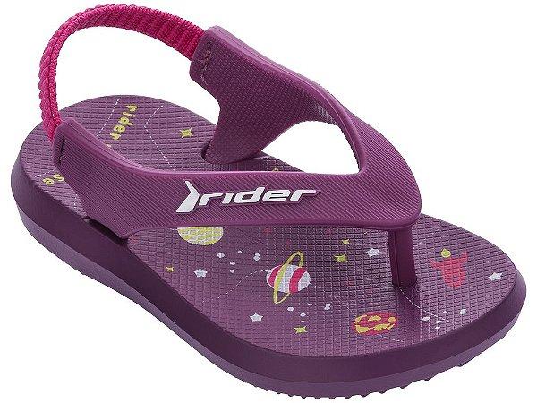Chinelo Rider R1 Baby 11184 17/25 Caixa com 12 Pares