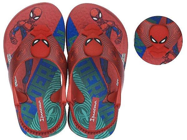 Chinelo Ipanema Spider Man 25586 17/24 Caixa com 12 Pares