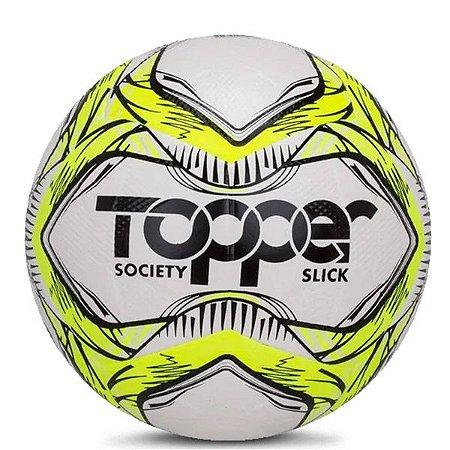 Bola Topper Slick Society 5164 Amarelo Neon e Preto