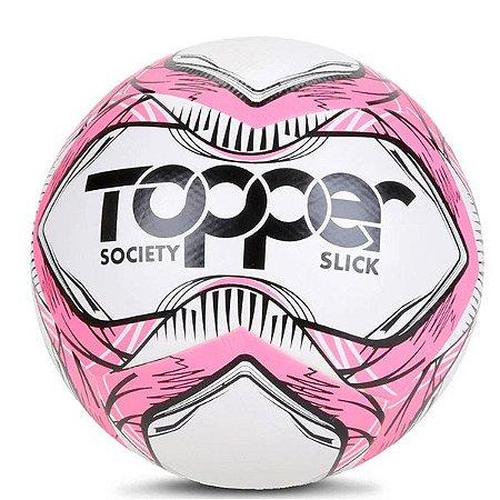 Bola Topper Slick Society 5163 Rosa Neon e Preto