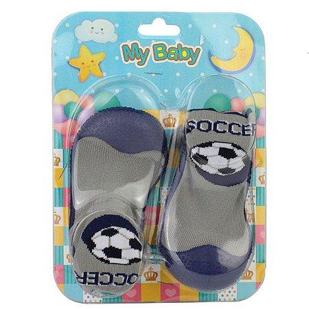 Sapato com Meia My Baby 8003.164 18/22 Caixa Com 12 Pares