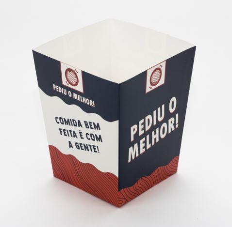 Balde Médio para Porções - 100 unidades