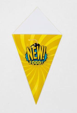 Cone Médio para Porções - 100 unidades