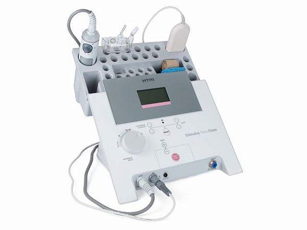 Stimulus Face Clean HTM - Aparelho de Alta Frequência, Vacuoterapia, Peeling Ultrassonico e Corrente de Baixa Frequência
