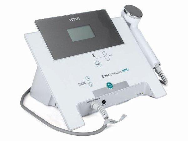 Novo Sonic Compact HTM – Aparelho de Ultrassom 1Mhz para Fisioterapia