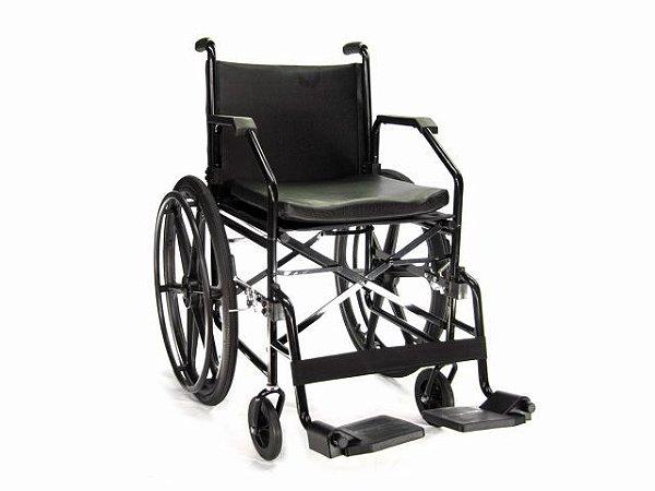 Cadeira de Rodas 1017 Plus - 90Kg - Jaguaribe