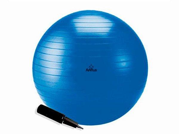 Bola Suíça para Pilates com Bomba de Ar - Anti-Burst - Arktus 75cm