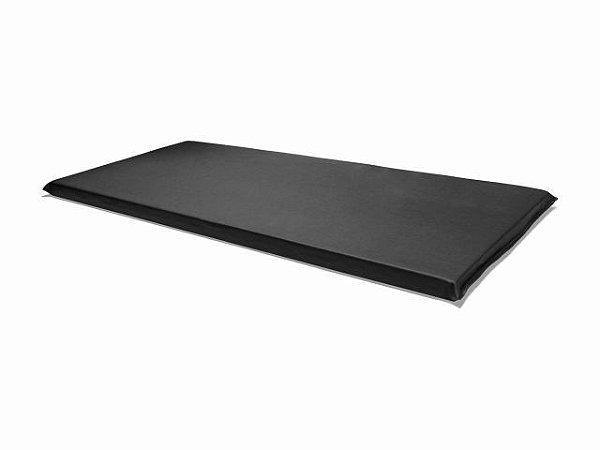 Colchonete em Courvin - 90x40cm - D28 - Vittaflex preto