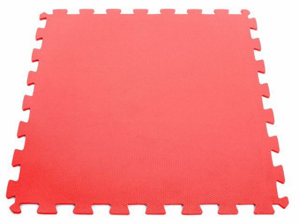 Tatame em EVA com Encaixe - 2x1m - Vermelho - Arktus 10MM