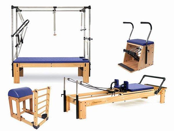 Kit Studio Classic Pilates Completo Azul Escuro - Arktus