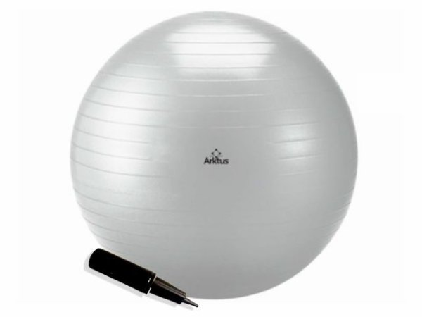Bola Suíça para Pilates com Bomba de Ar - Anti-Burst - Arktus 85 cm